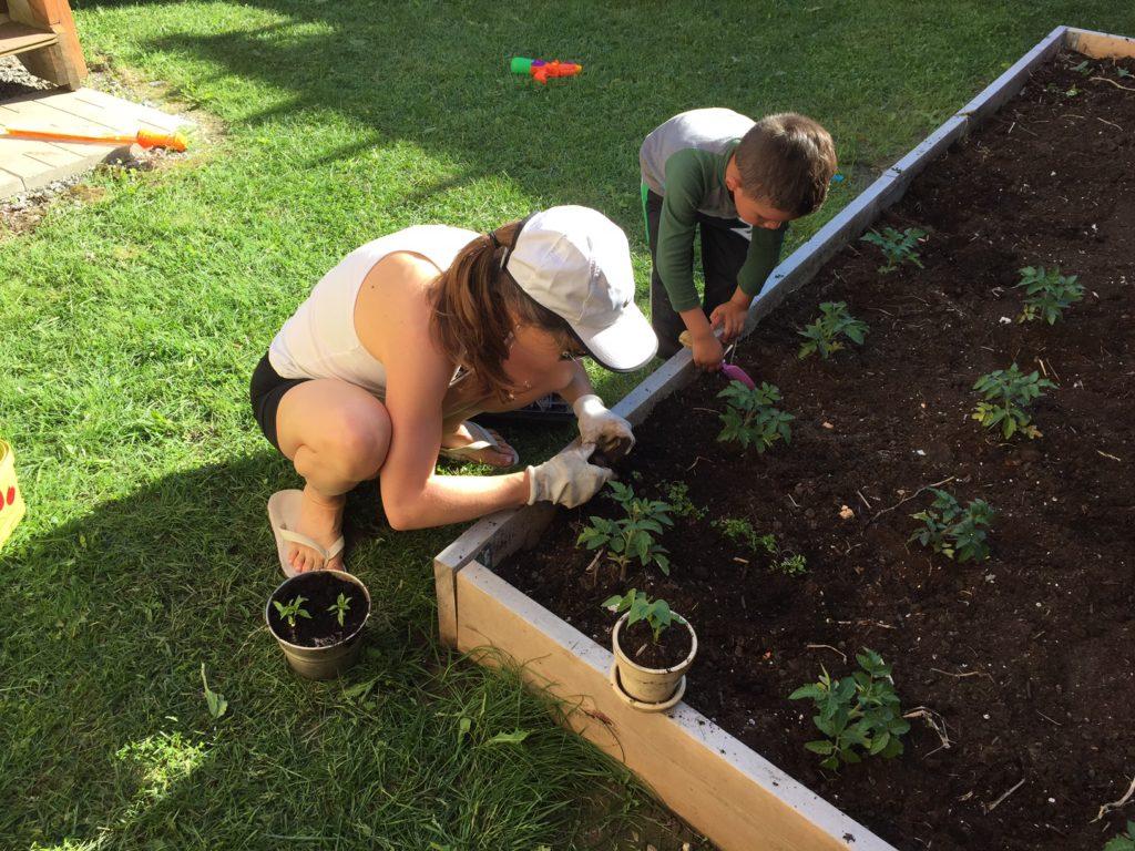 squat garden